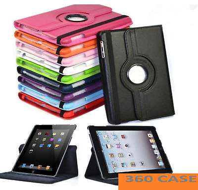 £6.48 • Buy Leather 360 Rotating Smart Case Cover Apple IPad 8th 7th Generation 10.2  2020