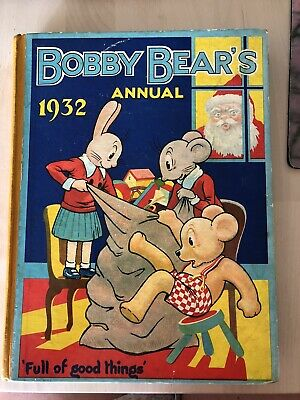 Bobby Bear Annual 1932 - Unused Condition No Puzzles Completed • 12£