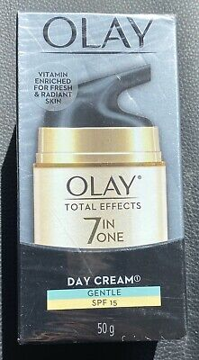 AU23.95 • Buy Olay Total Effects 7-in-1 Anti- AgingDay Cream Gentle SPF15 Fragrance   Free 50g