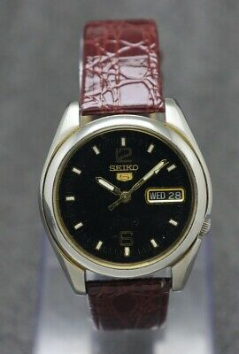 $ CDN29.75 • Buy Authentic Vintage Seiko 5 Automatic Movement No. 7s26 Japan Made Men's Watch.