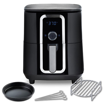 $ CDN138.28 • Buy 7 Qt. Ceramic Family-Size Air Fryer With Accessories And Full Color Recipe Book
