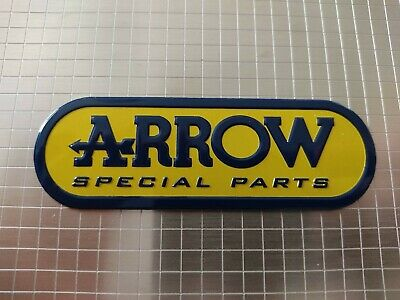 Arrow Motorbike / Motorcycle Heatproof Exhaust Sticker / Decal • 3.20£