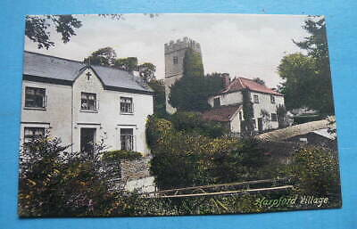 Early Frith Colour POSTCARD - Harpford Village, Devon • 2.50£