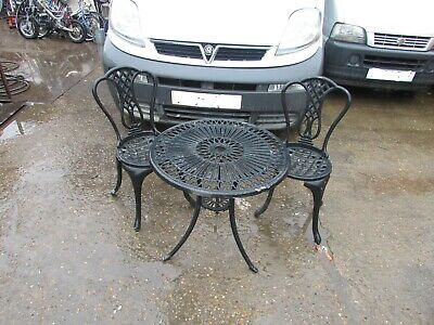 Cast Aluminium Garden Table And Chairs COLLECTION ERITH  • 50£