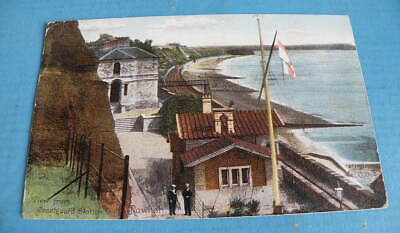 Early Frith Colour POSTCARD - View From Coastguard Station, Dawlish, Devon • 2£