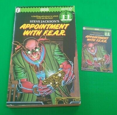 AU23.38 • Buy Appointment With F.E.A.R. ***VGC 1st EDITION!!*** Fighting Fantasy Puffin #3