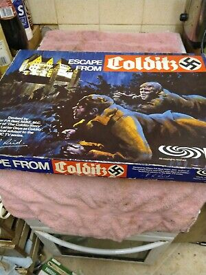 Escape From Colditz Board Game 1973 Parker Complete • 20.40£
