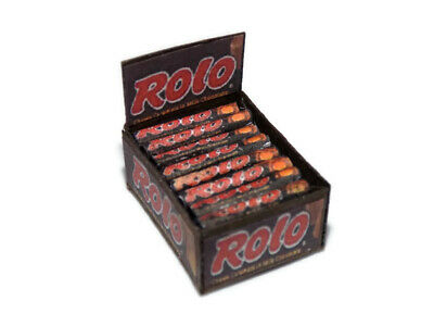 Dolls House Miniature Rolo Box-sweet Shop-food-1:12 Scale • 3.99£