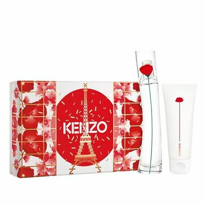 £45.15 • Buy Kenzo Flower Gift Set 30ml Edp + 75ml Body Lotion Womens For Her Free Delivery