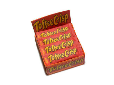 Dolls House Miniature Toffee Crisp-sweet Shop-confectionery-food-1:12 Scale • 3.99£