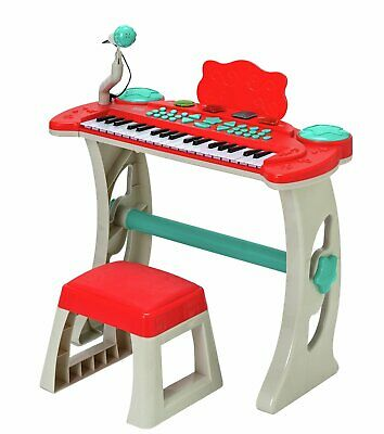 £48.99 • Buy Chad Valley Keyboard Stand And Stool - Red Toy Play Kids Musical Gift NEW