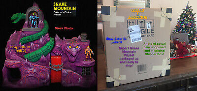 $1550 • Buy Super7 Masters Of The Universe Classics SNAKE MOUNTAIN Playset NEW MIB & SEALED!