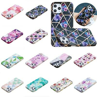 AU8.25 • Buy Case For IPhone 12 11 XR XS X SE Mini Pro Max 8 7 6 Shockproof Marble Cover