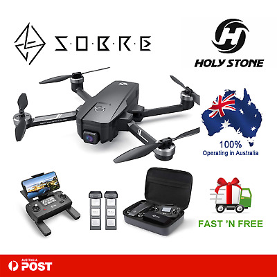AU539.95 • Buy Holy Stone HS720E 4K EIS Drone With UHD Camera GPS RC Quadcopter 5GHz FPV Live