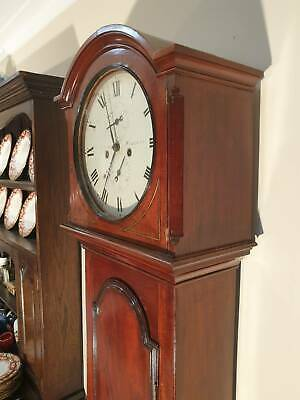 AU2300 • Buy A Lovely Antique George Iii Longcase 8 Day Clock
