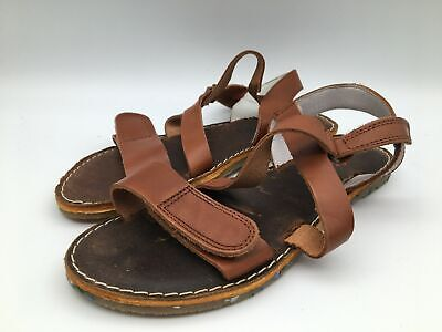 £15.29 • Buy Ex-Display Superfit Brown Leather Strap Sandals Shoes Kids Size UK 6