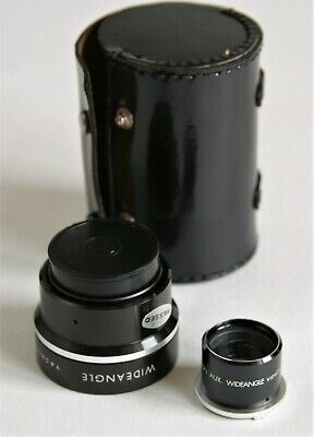 Wide Angle Lens And Case For Yashica Mat 124G Twin Lens Reflex Camera • 80£