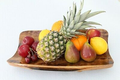£30 • Buy Solid Oak  Fruit Bowl  -  Display Bowl  - Focal Piece  - Unique - Upcycled