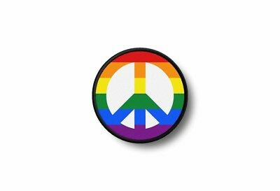 Patch Embroidered Printed Thermoadhesive Rasta Reggae Peace Rainbow • 3.55£