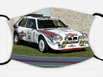 Face Mask, TRIPLE LAYER, FILTER Goodwood Festival Of Speed, WRC Lancia FREE POST • 12.99£