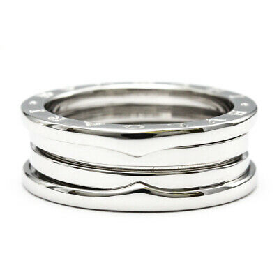 AU1317 • Buy Polished BVLGARI B-ZERO1 Ring S Size #62 US 10.5 18K White Gold 18KWG BF521982
