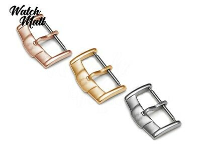 Fits OMEGA Buckle Clasp Watch Leather Rubber Strap Band Silver Rose Yellow Gold • 15.49£
