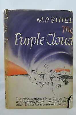 $45 • Buy M P Shiel THE PURPLE CLOUD 1946 Very Good Condition In Dust Jacket