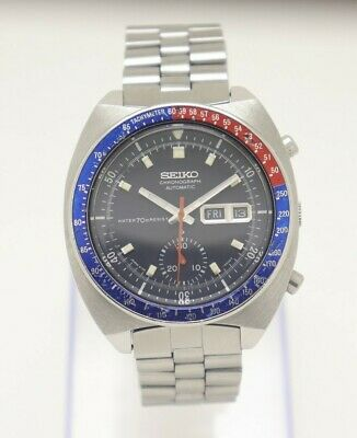 $ CDN1271.70 • Buy 70's Seiko CHRONOGRAPH Pogue Automatic Movement 6139-6002 Japan Made Men's Watch