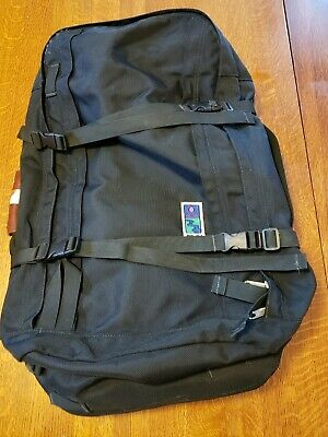$ CDN72.54 • Buy MEI Voyager Pack Black With Hide-Away Backpack And Waist Straps Duffle Bag