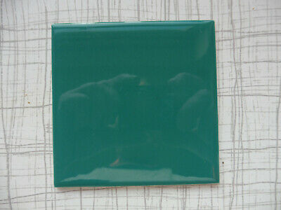 £9.99 • Buy NEW UNUSED Vintage CRISTAL Wall Tiles By H&R Johnson Limited - GREEN