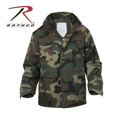 $95 • Buy Rothco Camo M-65 Field Jacket With Linear Size: Large