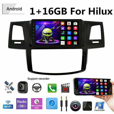 AU234.80 • Buy 9'' Android 10.1 Car Stereo GPS Head Unit Navigation For Toyota Hilux 2005-2014