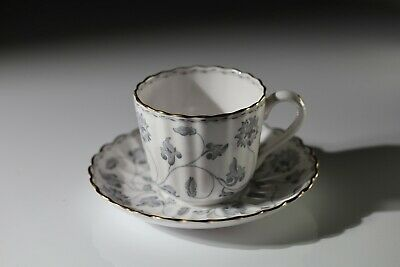 Spode Colonel (grey)  Coffee Can / Cup And Saucer (perfect) • 17.85£