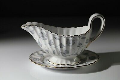 SPODE COLONEL (Grey) GRAVY / SAUCE BOAT AND STAND  • 52.49£