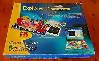 £59.99 • Buy Cambridge Brainbox Explorer 2 Electronics Kit. Over 900 Experiments. Key Stage 3