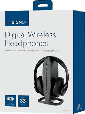 $ CDN34.24 • Buy Insignia NS-HAWHP2 RF Wireless Over The Ear Headphones - Black