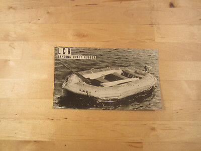 £20 • Buy WWII Photograph Landing Craft Rubber Boat, LCR