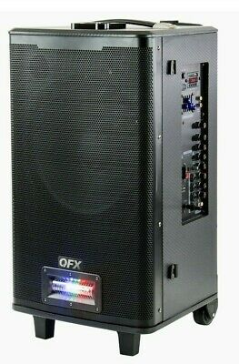 $ CDN259.52 • Buy QFX PBX-125 Rechargeable Party Line Array Column Bluetooth Speaker With A Twist