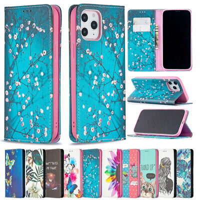 AU13.06 • Buy Case For IPhone 12 11 Pro Max SE 2 XS X 8 7 Flip Wallet Magnetic Phone 360 Cover