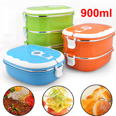 £8.69 • Buy Portable Lunch Box Case Food Warmer School Kids Adult Thermal Insulated Containe