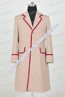 £89.99 • Buy Who Is Doctor Cosplay Dr Peter Davison Costume Coat Various Styles Available