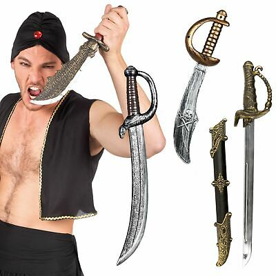 Plastic Sword Legend Weapon Knight Warrior Pirate Fighter Fancy Dress Up Cosplay • 6.17£