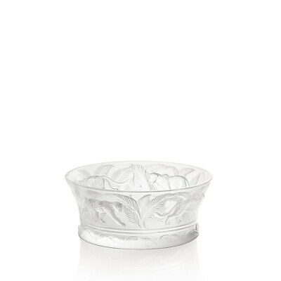 Lalique Jungle Bowl Clear Crystal 1111500 New • 851.18£