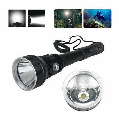 AU77.89 • Buy 8000LM XHP70.2 LED Scuba Diving Flashlight Lamp Torch Waterproof Underwater IPX8