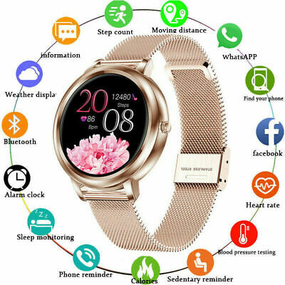 AU52.99 • Buy Bluetooth Smart Watch Heart Rate Blood Pressure Fitness Tracker For IOS Android