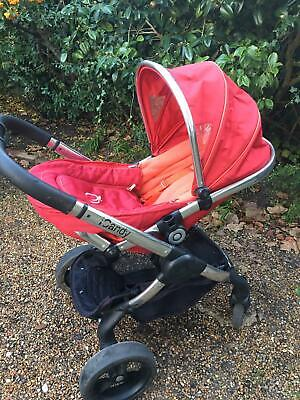 ICandy Peach Tomato Pushchair Single Seat Stroller • 75£