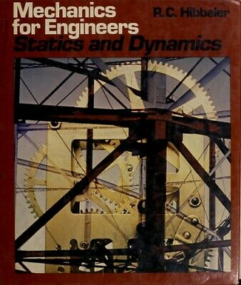 Mechanics For Engineers, Statics And Dynamics Hardcover Russell C. Hibbeler • 22.96£