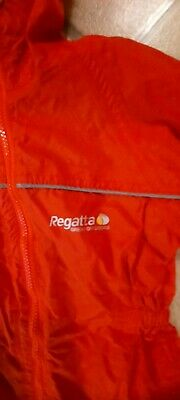 Regatta Waterproof Rain Suit All In One Age 2-4 • 15£