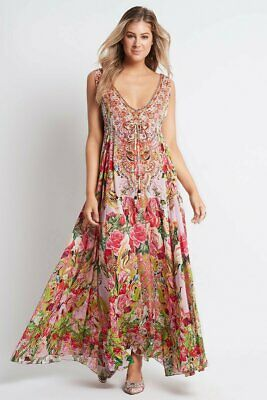 AU376 • Buy Czarina  Every Flower Blossoms  Maxi Dress