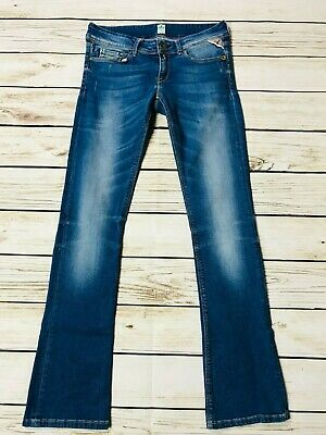 £26.99 • Buy Replay Rearmy Slim Bootcut Jeans Low Rise With Stretch Size 26